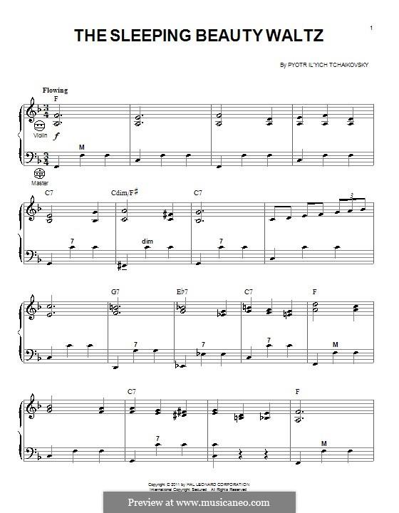 Вальс: Для аккордеона by Петр Чайковский
