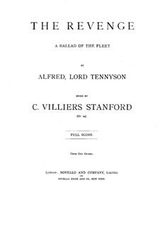 The Revenge, Op.24: The Revenge by Чарлз Виллиерс Стэнфорд