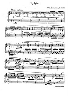 Fylgia, for Piano, Op.16 No.4: Fylgia, for Piano by Вильгельм Стенхаммар