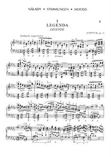 Пять пьес 'Настроение', Op.10: Пять пьес 'Настроение' by Йосеф Сук