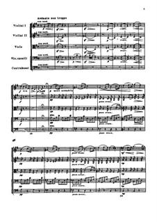 Элегия для струнного оркестра 'Привет благодарности', TH 51: Партитура by Петр Чайковский