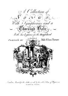 Шесть упражнений для клавесина: Шесть упражнений для клавесина by Элизабет Тёрнер