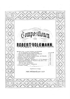 Deutsche Tanzweisen, Op.18: Deutsche Tanzweisen by Роберт Фолькманн
