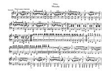 Шесть пьес для фортепиано в четыре руки, J.81-86 Op.10: Пьеса No.4 (Мазурка) by Карл Мария фон Вебер