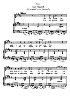 Цикл песен на стихи Эйхендорфа: Сборник by Хуго Вольф