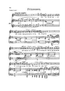 Принцесса, EG 133: Для голоса и фортепиано by Эдвард Григ