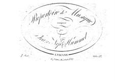 Попурри No.1 по мотивам 'Ослиной шкуры', Op.58: Попурри No.1 по мотивам 'Ослиной шкуры' by Иоганн Непомук Гуммель