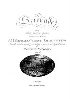 Серенада для флейты, альта и гитары, Op.26: Серенада для флейты, альта и гитары by Томас Венцель Матейка