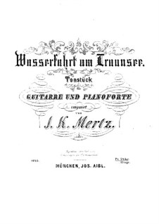 Wasserfahrt am Traunsee: Für Gitarre und Klavier by Иоганн Каспар Мерц