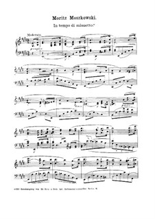Три пьесы для фортепиано, Op.32: Сборник by Мориц Мошковский