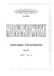 Esquisses techniques, Op.97: Esquisses techniques by Мориц Мошковский