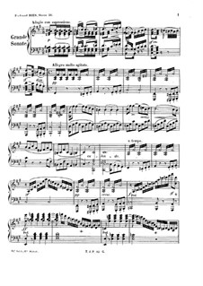 Большая соната фа-диез минор, Op.26: Большая соната фа-диез минор by Фердинанд Рис