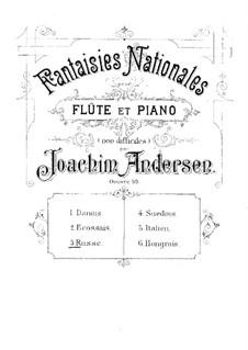 Национальные фантазии, Op.59: No.3 Russe by Иоахим Андерсен