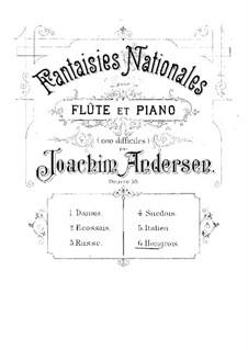 Национальные фантазии, Op.59: No.6 Hongrois by Иоахим Андерсен