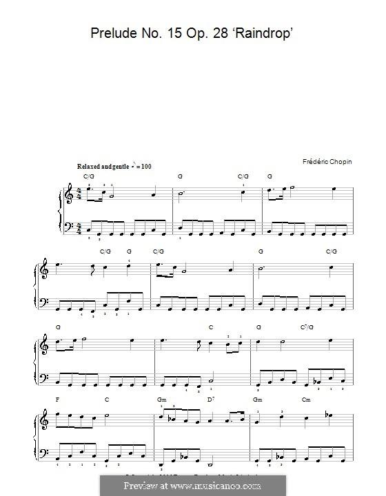 No.15 ре-бемоль мажор: Для фортепиано (ноты высокого качества) by Фредерик Шопен