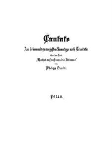 Wachet auf, ruft uns die Stimme, BWV 140: Партитура by Иоганн Себастьян Бах