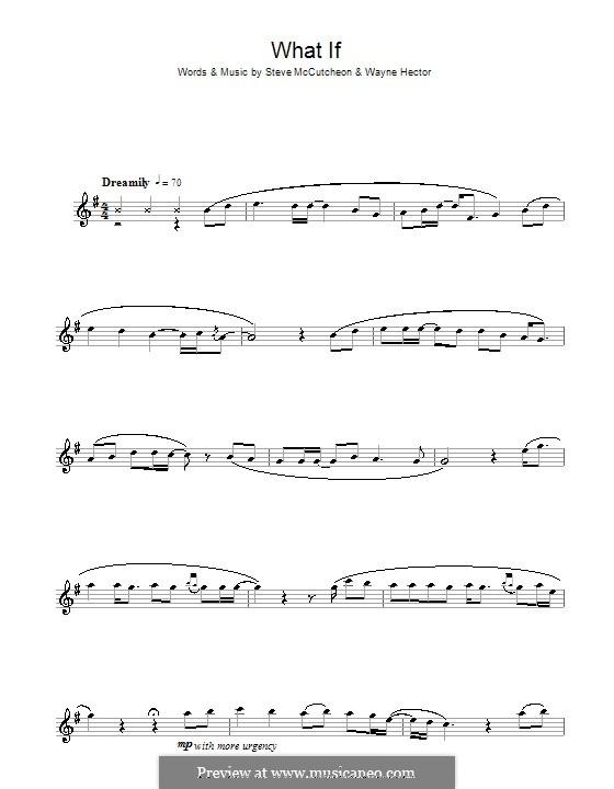 What If (Kate Winslet): Для альтового саксофона by Steve Mac, Wayne Anthony Hector