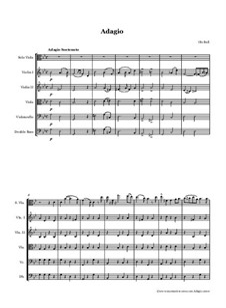 Adagio for Viola and String Orchestra: Adagio for Viola and String Orchestra by Оле Булл