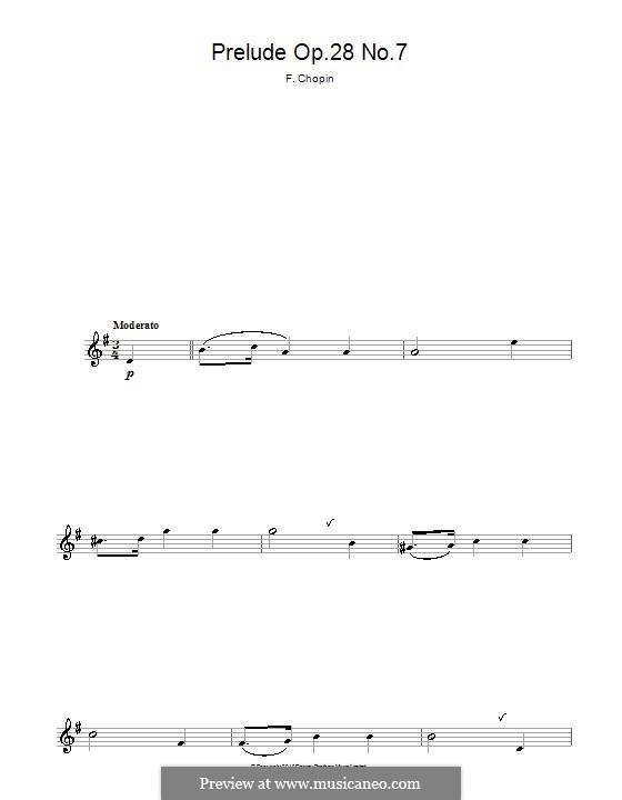 No.7 ля мажор: Для альтового саксофона by Фредерик Шопен