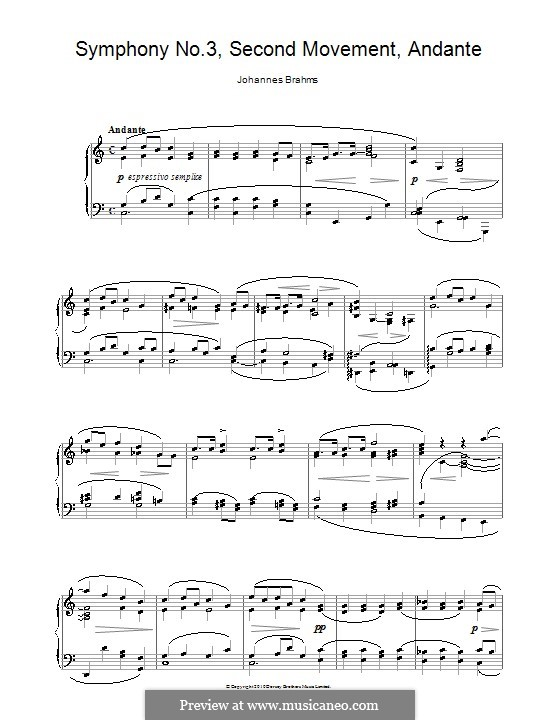 Часть II: Версия для фортепиано by Иоганнес Брамс