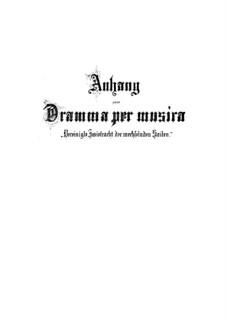 Vereinigte Zwietracht der wechselnden Saiten, BWV 207: Дополнение by Иоганн Себастьян Бах