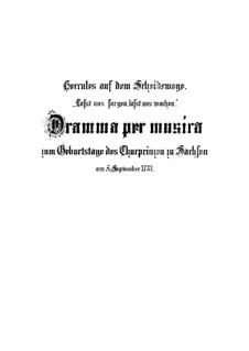 Lasst uns sorgen, lasst uns wachen, BWV 213: Lasst uns sorgen, lasst uns wachen by Иоганн Себастьян Бах