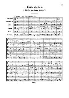 Christe du Lamm Gottes: Kyrie eleison by Иоганн Себастьян Бах