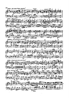 Хоры: Тетрадь III. Переложение для фортепиано by Иоганн Себастьян Бах