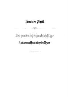 Рождественская оратория, BWV 248: В той стране были на поле пастухи (Часть II) by Иоганн Себастьян Бах