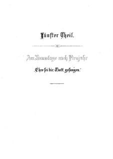 Рождественская оратория, BWV 248: Слава Тебе, Боже (Часть V) by Иоганн Себастьян Бах