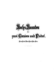 Трио-соната для органа No.1 ми-бемоль мажор, BWV 525: Для одного исполнителя by Иоганн Себастьян Бах