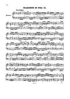 Прелюдия и фуга No.9 ре минор, BWV 539: Для органа by Иоганн Себастьян Бах