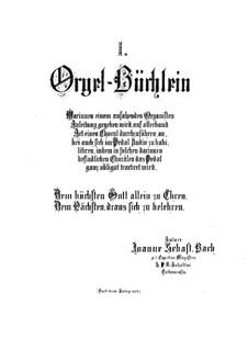 Прелюдии No.1-44, BWV 599-644: Для органа by Иоганн Себастьян Бах
