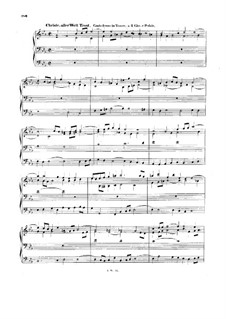 Хоральные прелюдии IV (Немецкая органная месса): Kyrie. Christe, aller Welt Trost. Large Version, BWV 670 by Иоганн Себастьян Бах