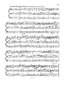 Хоральные прелюдии IV (Немецкая органная месса): Из бездны бед взываю я к Тебе. Полная версия, BWV 686 by Иоганн Себастьян Бах
