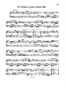 Скерцо для клавира ре минор, BWV 844a: Скерцо для клавира ре минор by Иоганн Себастьян Бах