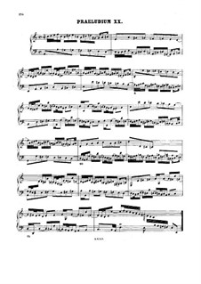 Прелюдия и фуга No.20 ля минор, BWV 889: Для клавесина by Иоганн Себастьян Бах