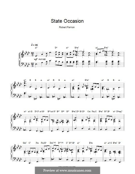 State Occasion: Для фортепиано by Robert Farnon