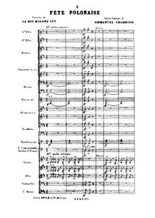 Король поневоле: Fête polonaise by Эммануэль Шабрие