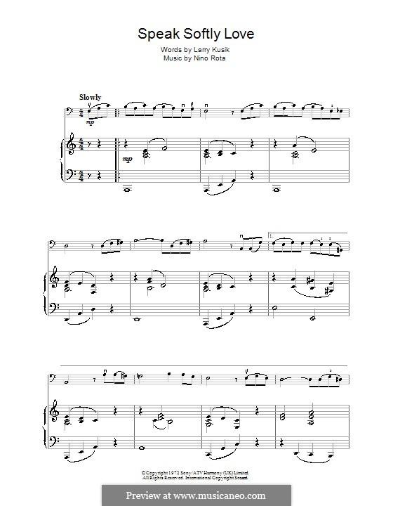 The Godfather (Love Theme): Для виолончели by Нино Рота