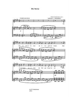 Liederzyklus, Op.1c, 3b: Liederzyklus by Robert Ficklscherer