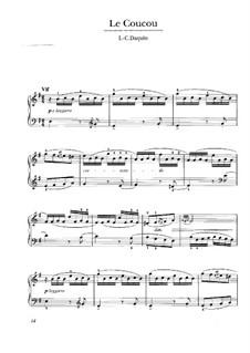 Кукушка: Для клавесина by Луи Клод Дакен