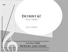 Detroit 67 (big band): Detroit 67 (big band) by Joseph Hasper