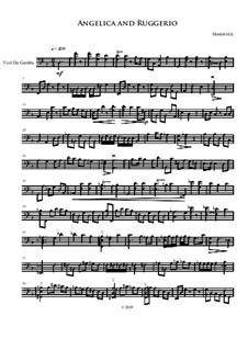 Ruggiero and Angelica: For viola da gamba by Irminsul Harp