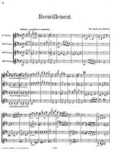 Recueillement, Op.203 No.3: Партитура by Шарль Данкла