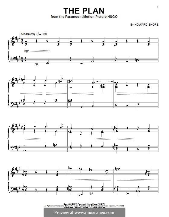 The Plan: Для фортепиано by Howard Shore