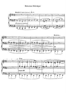 Героическая колыбельная, L.132: Для одного исполнителя by Клод Дебюсси