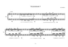 Eight small piano pieces for intermediate and advanced students: No.7, MVWV 278 by Maurice Verheul