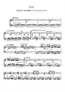 Этюды, L.136: Тетрадь I, No.1-6 by Клод Дебюсси