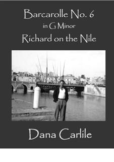 Barcarolle No.6: Barcarolle No.6 by Dana Carlile